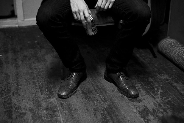 Green Room. Nice Shoes. Photo by Shaun Stander